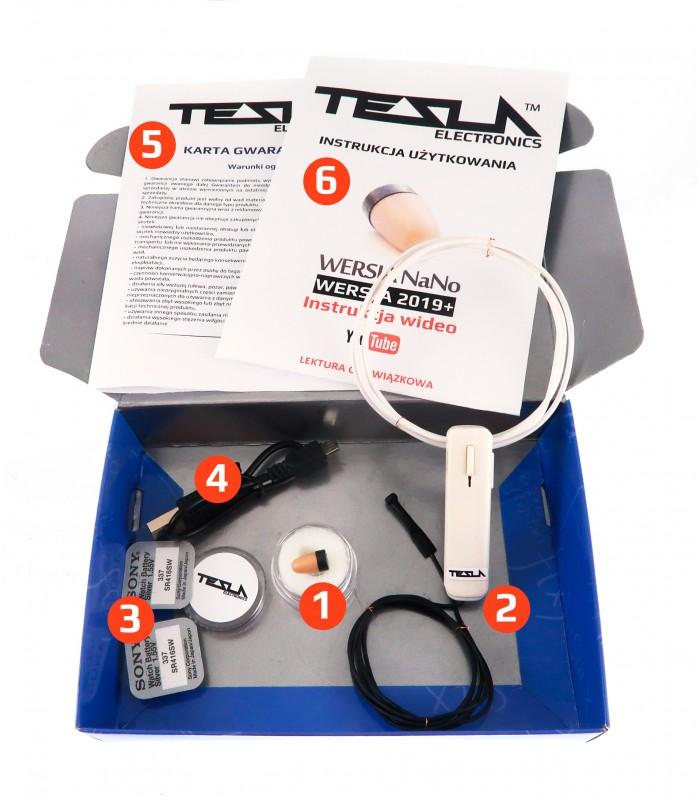 Mikrosłuchawka TESLA Bluetooth NaNo